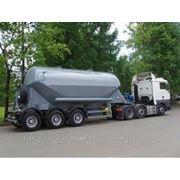 Перевозка цементовозами от 15 до 30 тон фото