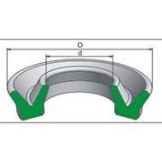 Манжета уплотнительная резиновая для гидравлических устройств (воротниковая) ГОСТ 6969-54 и ГОСТ 14896-84 фото