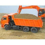 Автомобильные поставки песка щебня цемента керамзита фото