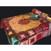Пошив авторских покрывал на кровать в технике пэчворк. фото
