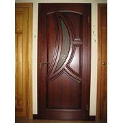 Изготовление дверей деревянных из дуба фото