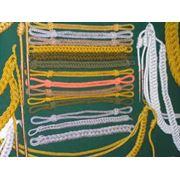 Изготовление позументов :золотосереброкоричневыйжелтый.Этишкет. фото