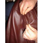 Ремонт кожаных изделий фото