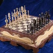 Шахматы Коробка с шахматами фото