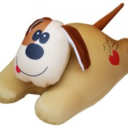 "Антистрессовая игрушка-подушка ""Собачка сердечная"" фото"