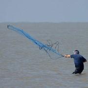 """Накидная сеть-парашют """"американского типа"""", диаметр 4 м фото"""