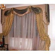 Пошив штор для дома постельного белья спецодежды Киев фото