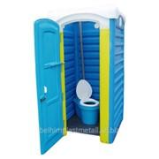 Кабина туалетная Дачная Укомплектованная фото