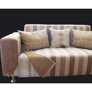 Пошив мебельных чехлов и покрывал. Чехлы на стулья и скатерти для стола. фото