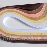 Бумага набор №32 120гр., 300мм., 200 полос, 7 цветов кофейный микс фото