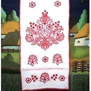 Рушник вышивной скатерть салфетки (национальная роспись) под заказ фото