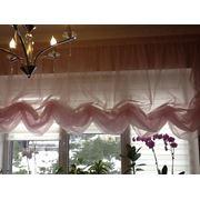 Индивидуальный пошив штор гардин ламбрекенов Киев Украина заказать фото
