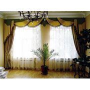 Пошив штор под заказ пошив покрывал пошив чехлов на мебель. фото