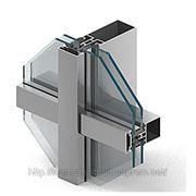 Стоечно-ригельная система фасадного остекления фото