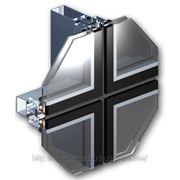 Структурная система фасадного остекления фото
