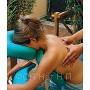 Массаж спины и шейно-воротниковой зоны фото