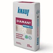 Штукатурка KNAUF ДИАМАНТ КОРОЕД ремонтный цементный 25кг фото