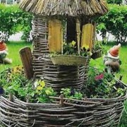 Плетение из орешника (Тын, клумба) цена, купить, Княжичи, Киев, Украина фото
