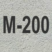 Бетон М 200 фото