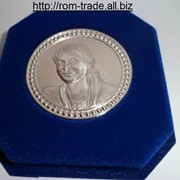 Медали из серебра с портретом фото