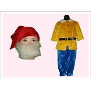 Прокат карнавальных костюмов для детей Сказочные образы : Костюм Гном фото