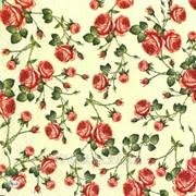 Салфетка для декупажа Средние розы принт фото