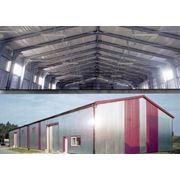 Монтаж металлоконструкций монтаж зданий арочного типа фото