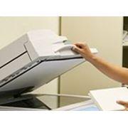 Крупноформатное сканирование электросхем фото