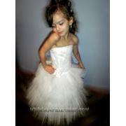 Прокат платьев вечерних праздничных для детей и взрослых фото