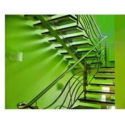 Монтаж лестниц площадок обслуживания и ограждения фото