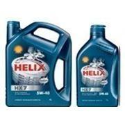 Моторное масло Shell Helix HX7 5w-40 4л фото