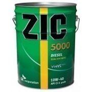 Моторное масло ZIC 5000 Diesel 10w-40 20л фото