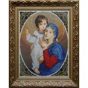 Набор для вышивания бисером Мадонна и дитя (радость) БС Солес оптом и в розницу фото