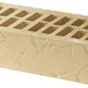 Кирпич керамический рельефный Дубовый листок фото