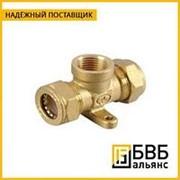 Тройник (труба-внутренняя резьба-труба) TF32-3/4-32 фото