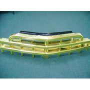 Золочение деталей автомобиля. Позолота дисков ручек решеток бамперов. фото