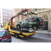 Эвакуация автомобиля после ДТП фото