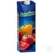 Sandora сік 1л овочевий з м'якоттю фото