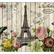 """Пакет подарочный ламинированный """"Эйфелева башня"""", 26х14х33см, (MILAND) фото"""