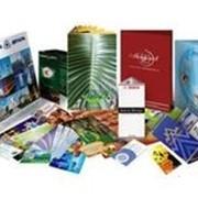 Услуги печати каталогов и меню фото