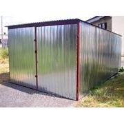 Металлические гаражи на металлолом фото