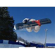 горнолыжные зимние виды отдыха (лыжи санки коньки) фото