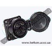 Розетка панельная СС11-4х32-052.0 для ж/д путевого инструмента фото