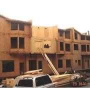 Строительство домов. Дома скелетной конструкции фото