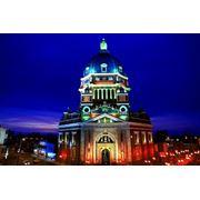 Разработка проектов архитектурной подсветки Архитектурная подсветка в Днепропетровске и области цена фото купить Украина фото