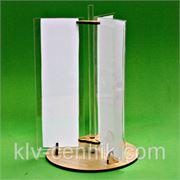 Менюхолдер трёхсторонний 163 x 240мм фото
