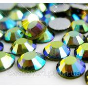 Стразы DMC Emerald AB ss4(1,6мм).Цена за 100шт. фото