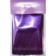 Фольга для литья , фиолетовая. 7*100 см. фото