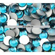 Стразы ДМС Blue Zircon ss3(1,4мм).Цена за 100шт. фото