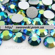 Стразы ДМС Blue Zircon AB ss5(1,8мм).Цена за 100шт фото